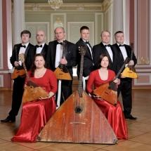 Государственный Русский концертный оркестр Санкт-Петербурга. Группа балалаек
