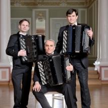 Государственный Русский концертный оркестр Санкт-Петербурга. Группа баянов