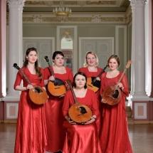 Государственный Русский концертный оркестр Санкт-Петербурга. Группа альтовых домр