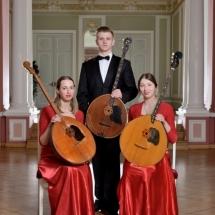 Государственный Русский концертный оркестр Санкт-Петербурга. Группа басовых домр