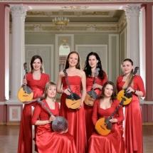 Государственный Русский концертный оркестр Санкт-Петербурга. Группа малых домр